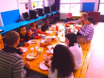 wijktijgers 1e lunch